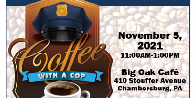 Image for Join CPD for Coffee with a Cop @ Big Oak Cafe